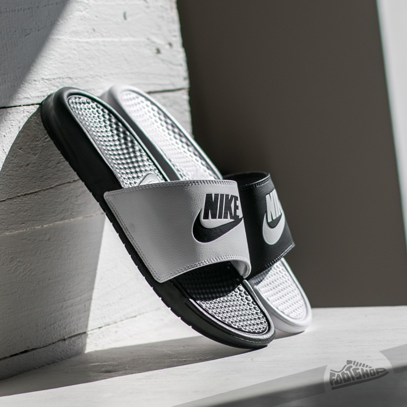 Nike Benassi JDI Mismatch Black White | Footshop