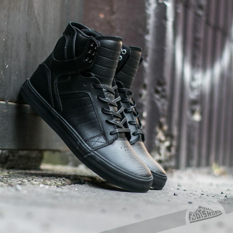 4e157891902 Supra Skytop Black/ Black-Red | Footshop