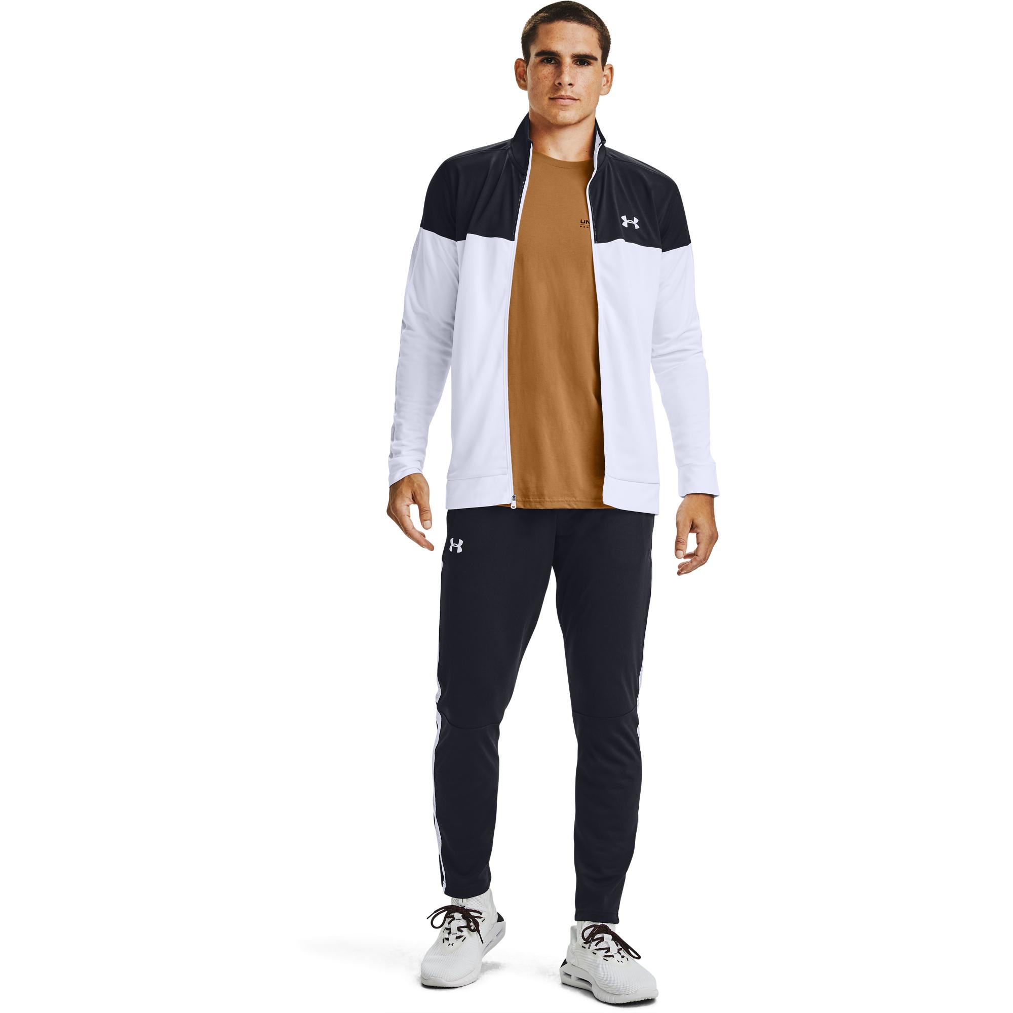 Under Armour Sportstyle Pique Trck Jacket Black/ White
