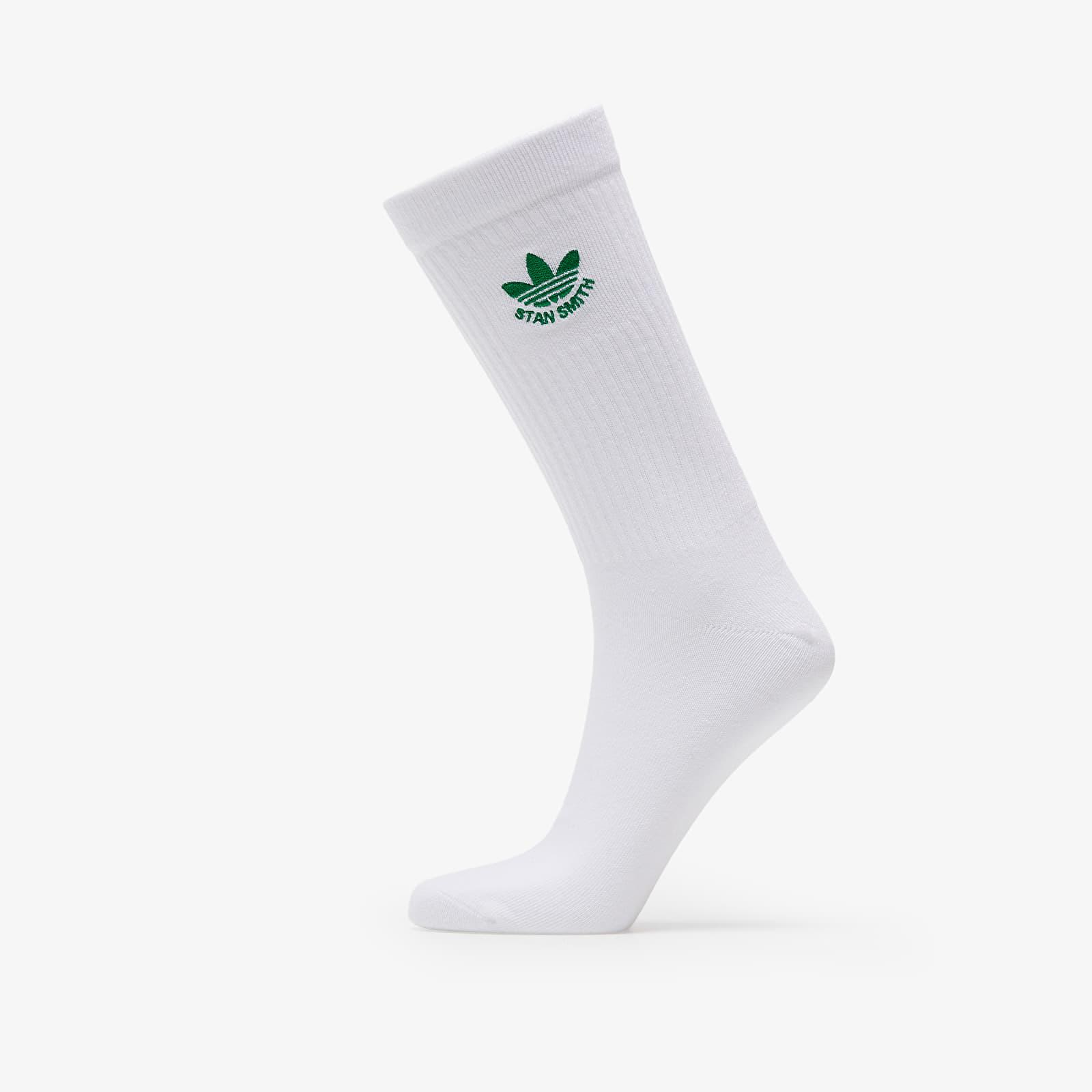 adidas Stan Smith Trefoil Socks (1 Pair) White EUR 46-48