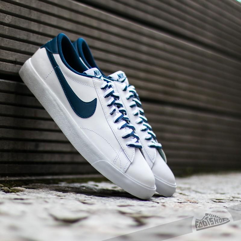 online store 58d4e 87195 Nike Tennis Classic Ac White Coastal Blue - Gum Mid Brown