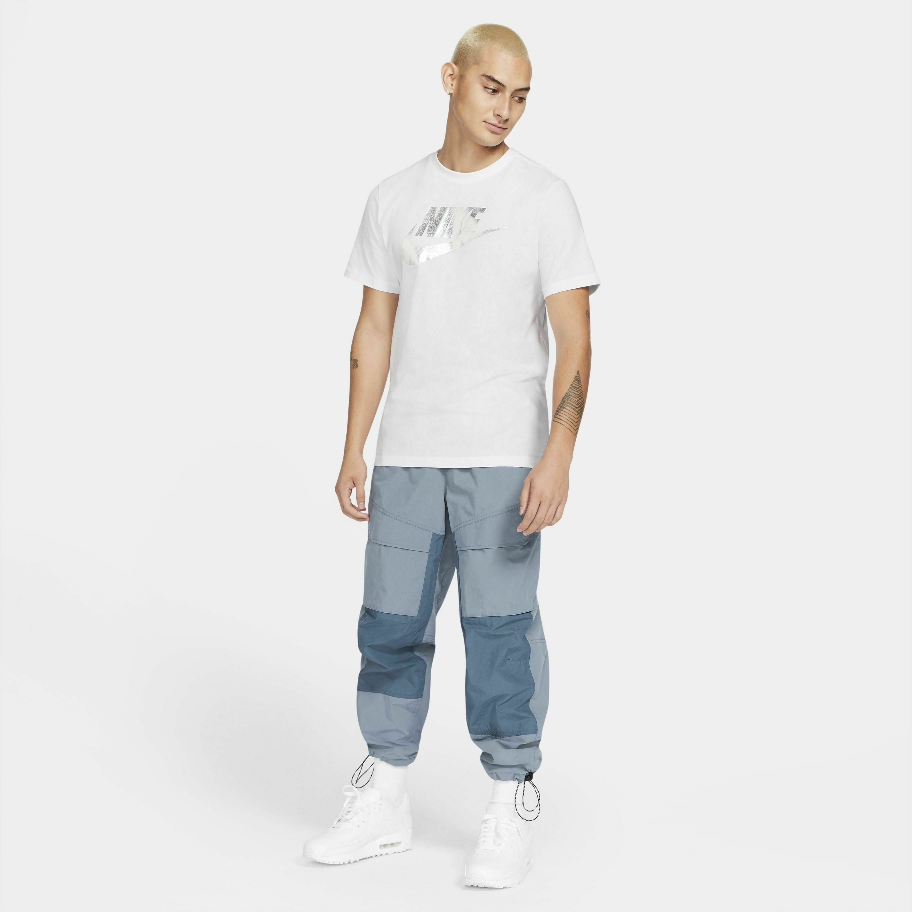 Nike Sportswear Tee Brand Mark Aplication 1 White S