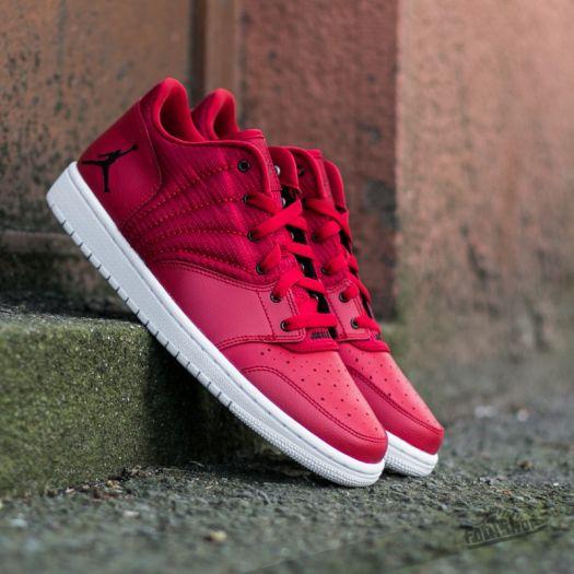 outlet store d02e2 511a5 Jordan 1 Flight 4 Low Gym Red/ Black White | Footshop