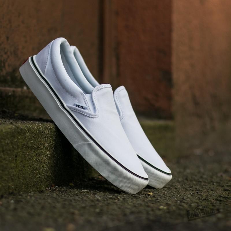 shoes Vans Slip-On Lite + (Canvas) True