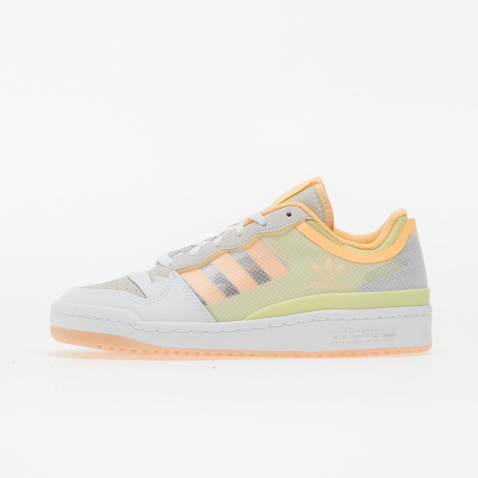adidas Forum Low TT W Ftw White/ Yellow Tint/ Active Orange EUR 36
