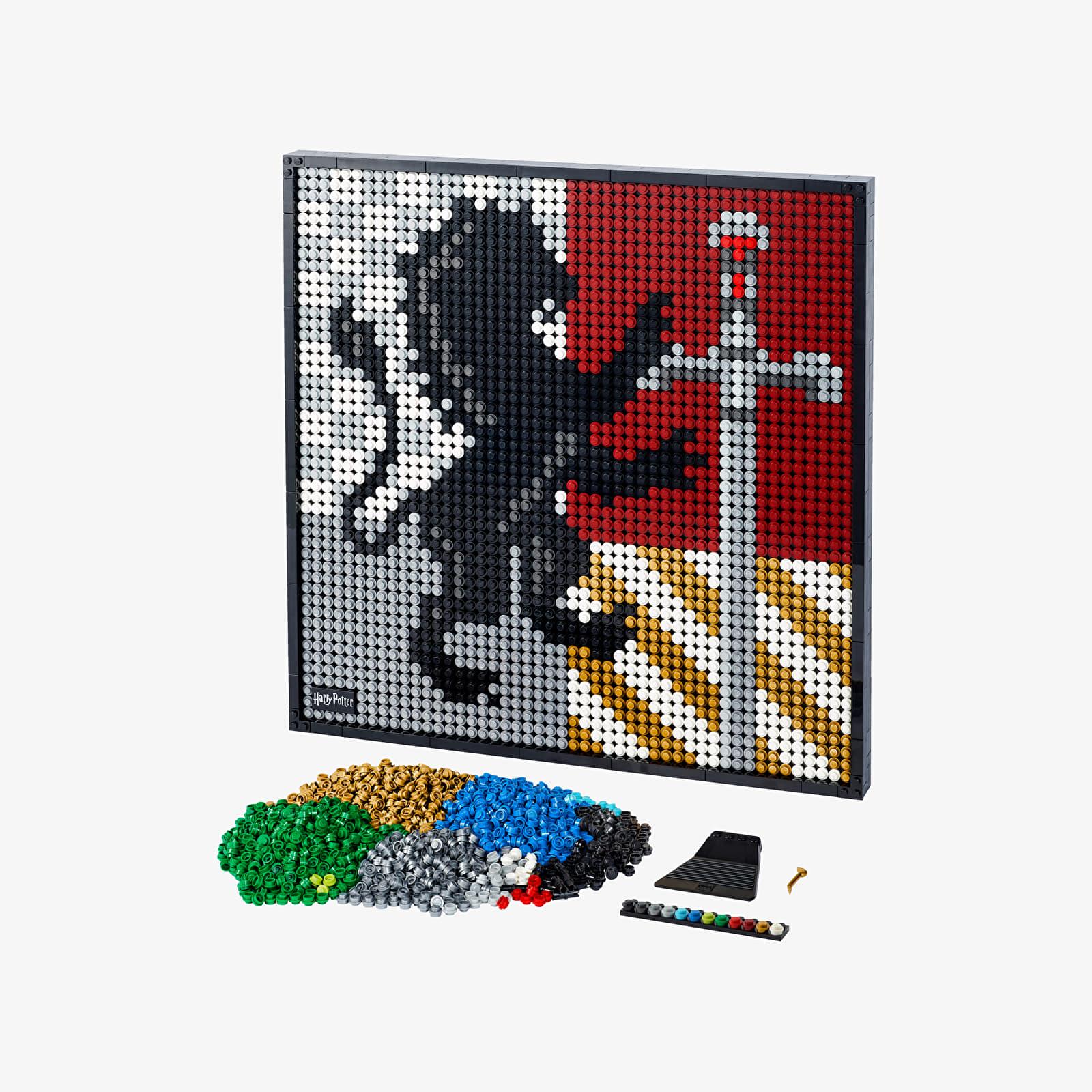 LEGO® Art 31201 Harry Potter™ Hogwarts™ Crests Universal