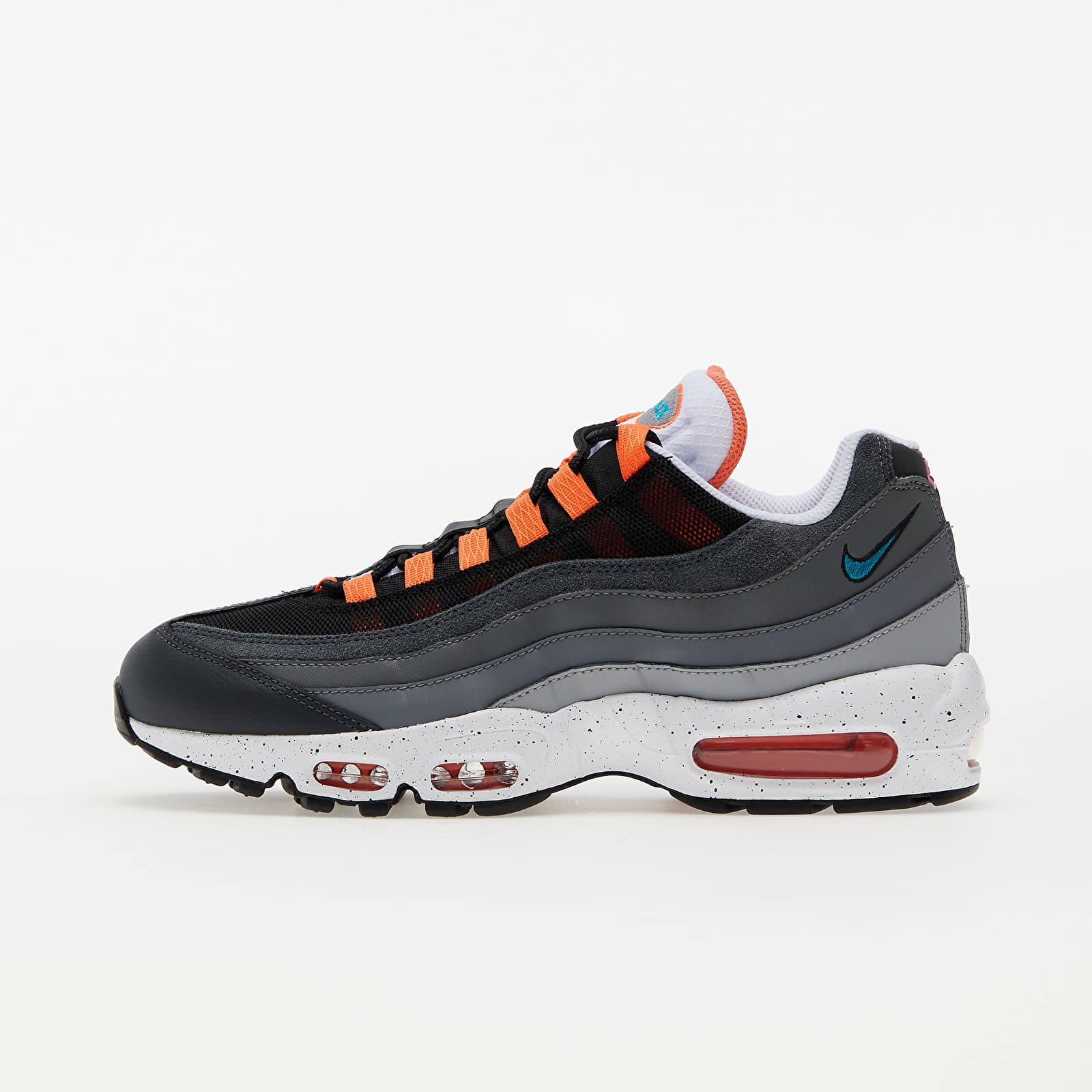 Nike Air Max 95 Black/ Aquamarine-Turf Orange-White EUR 45