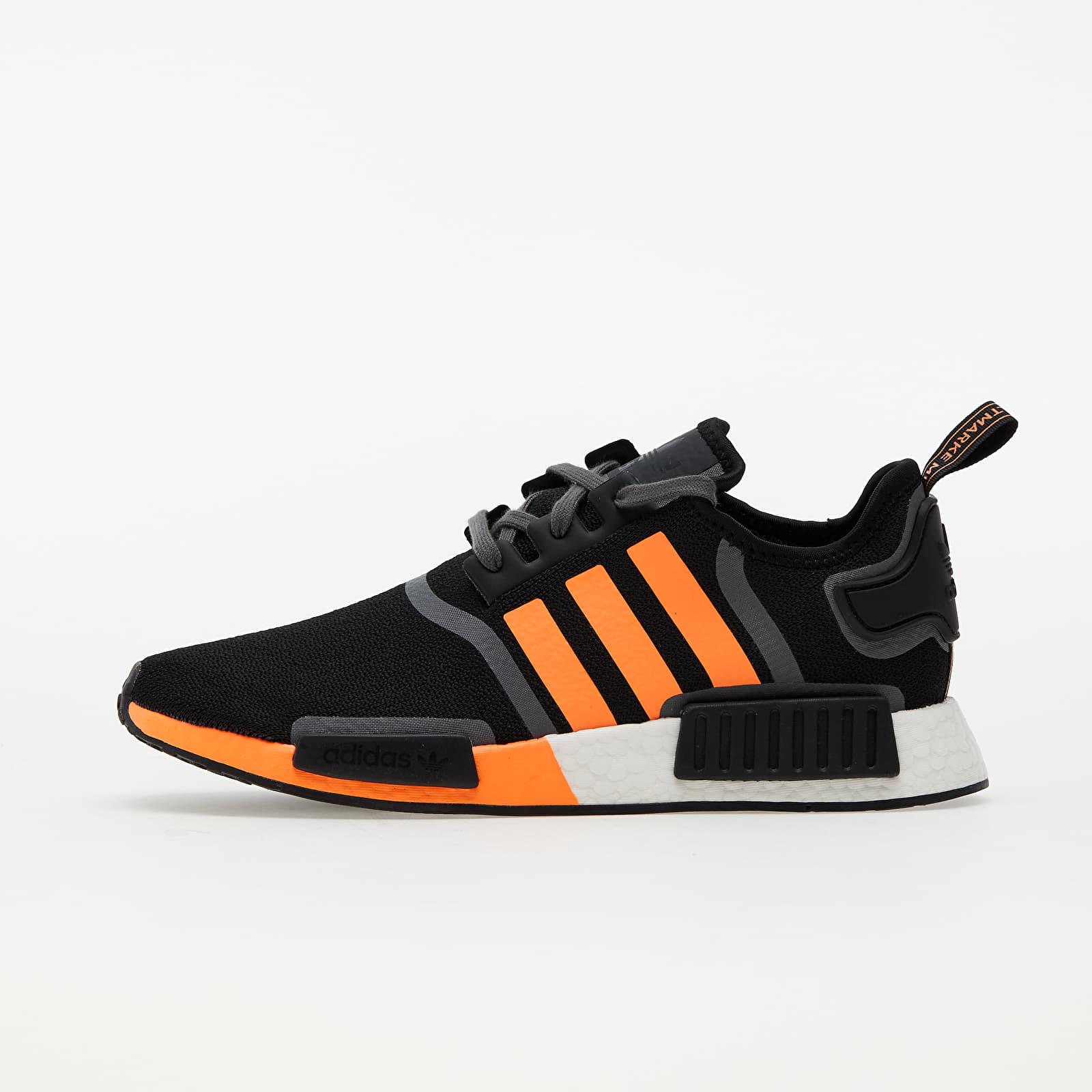adidas NMD_R1 Core Black/ Screen Orange/ Grey Five EUR 38