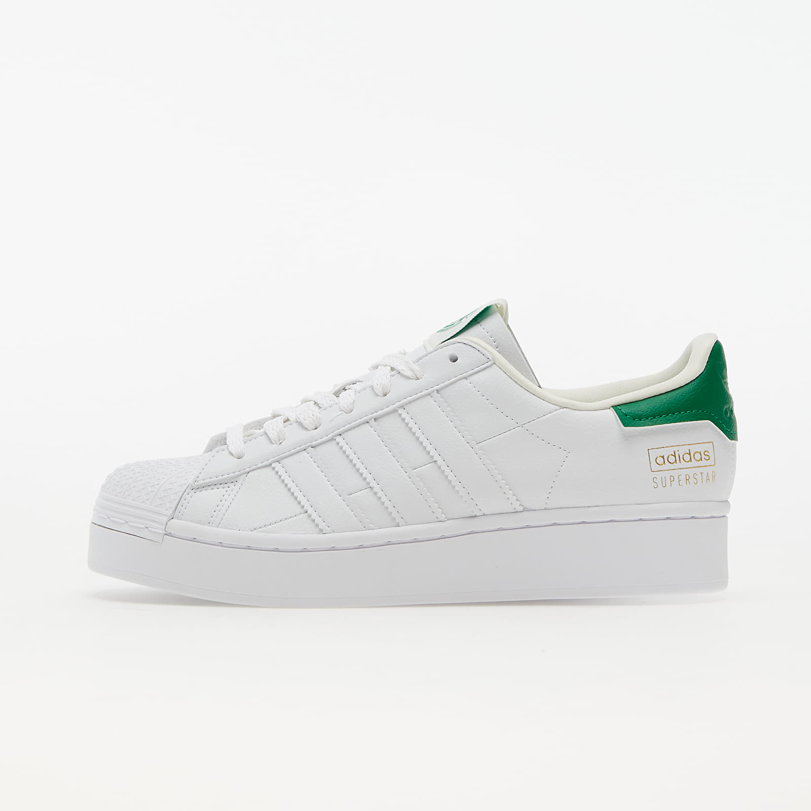 adidas Superstar Bold W Ftw White/ Off White/ Green EUR 39 1/3
