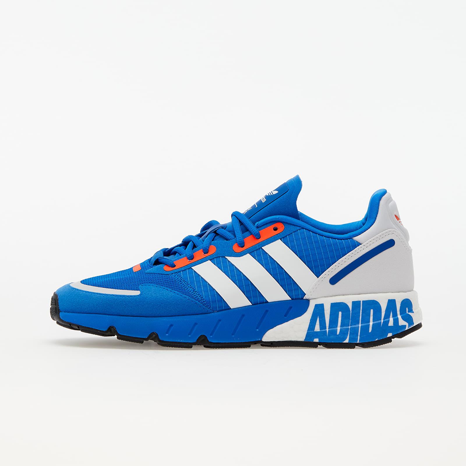 adidas ZX 1K Boost Glow Blue/ Ftw White/ Solar Red EUR 46