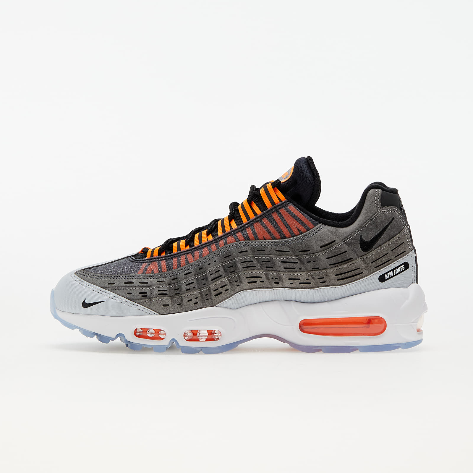 Nike x Kim Jones Air Max 95 Black/ Total Orange-Dark Grey-Cool Grey EUR 45.5