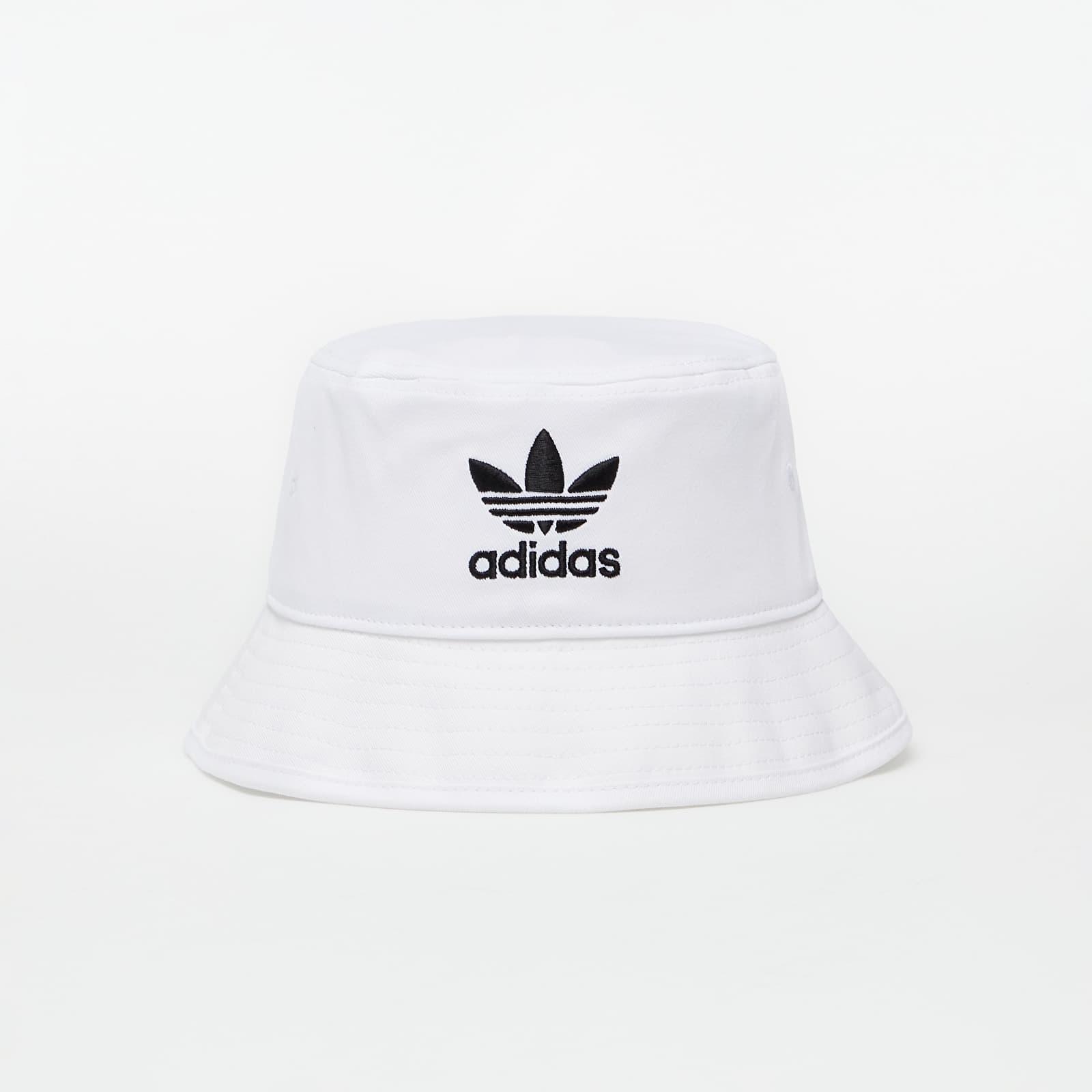 adidas Adicolor Trefoil Bucket Hat White OSFM