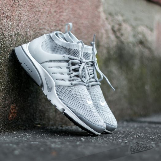 ... clearance nike air presto flyknit ultra wolf grey pure platinum white  black footshop 38578 03d38 90f3af538