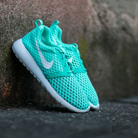outlet store e957d 0c665 Nike Roshe One Flight Weight (GS) Hyper Turquoise/ White ...