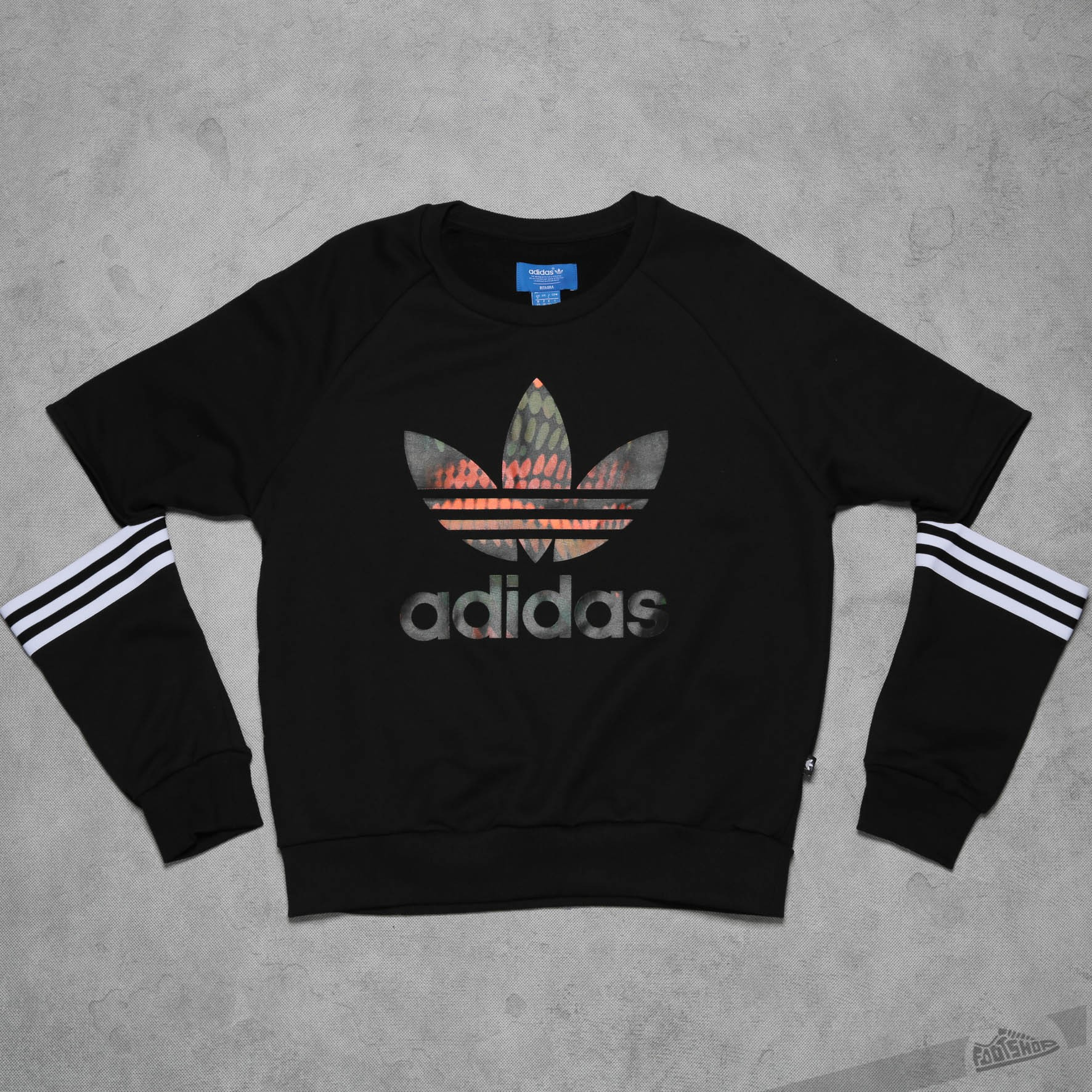 fdc21c96e2a adidas Cut Out Sweater Black