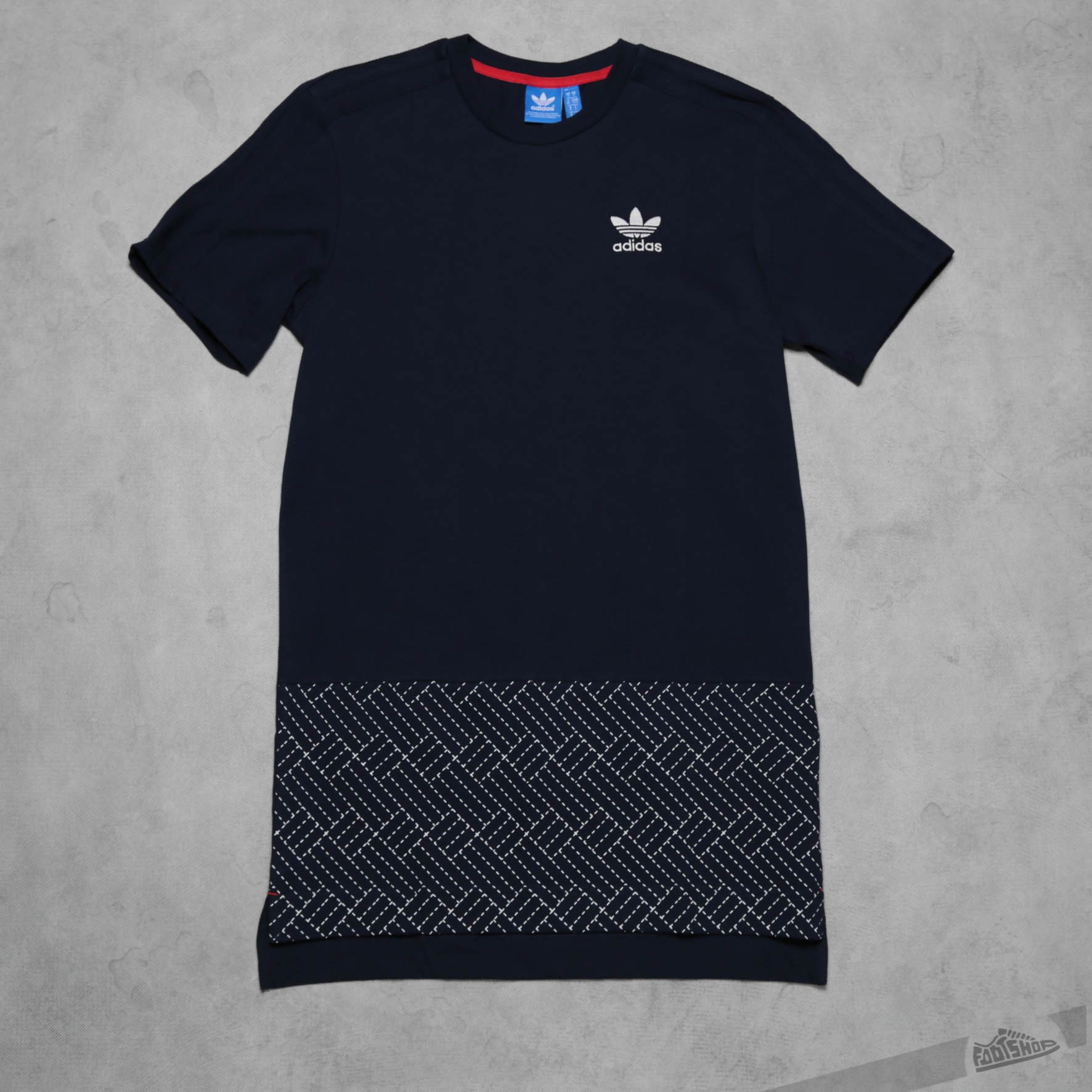 adidas T shirt Budo Panel Tee Black