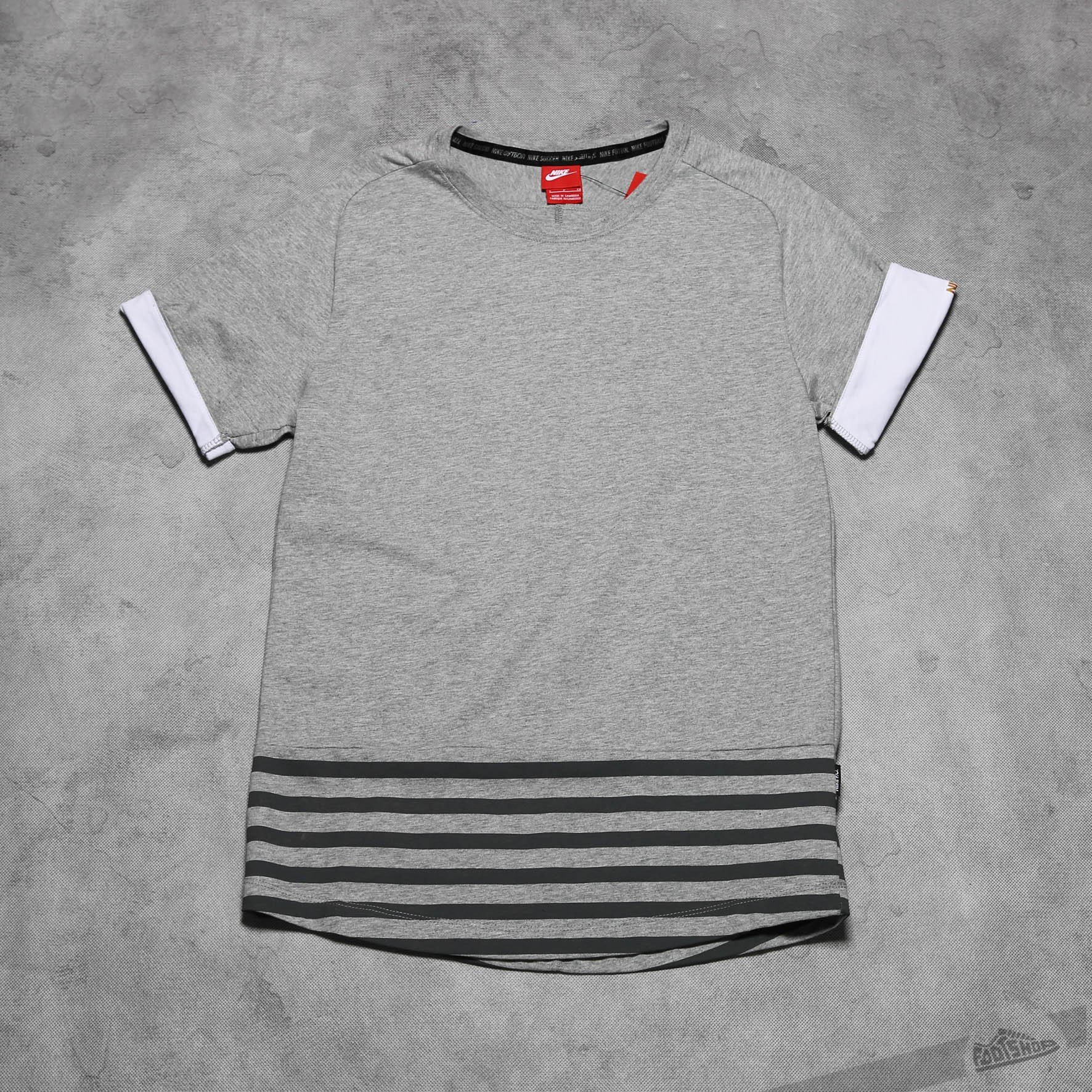 0d713a857511 Nike FC Sideline Top Grey