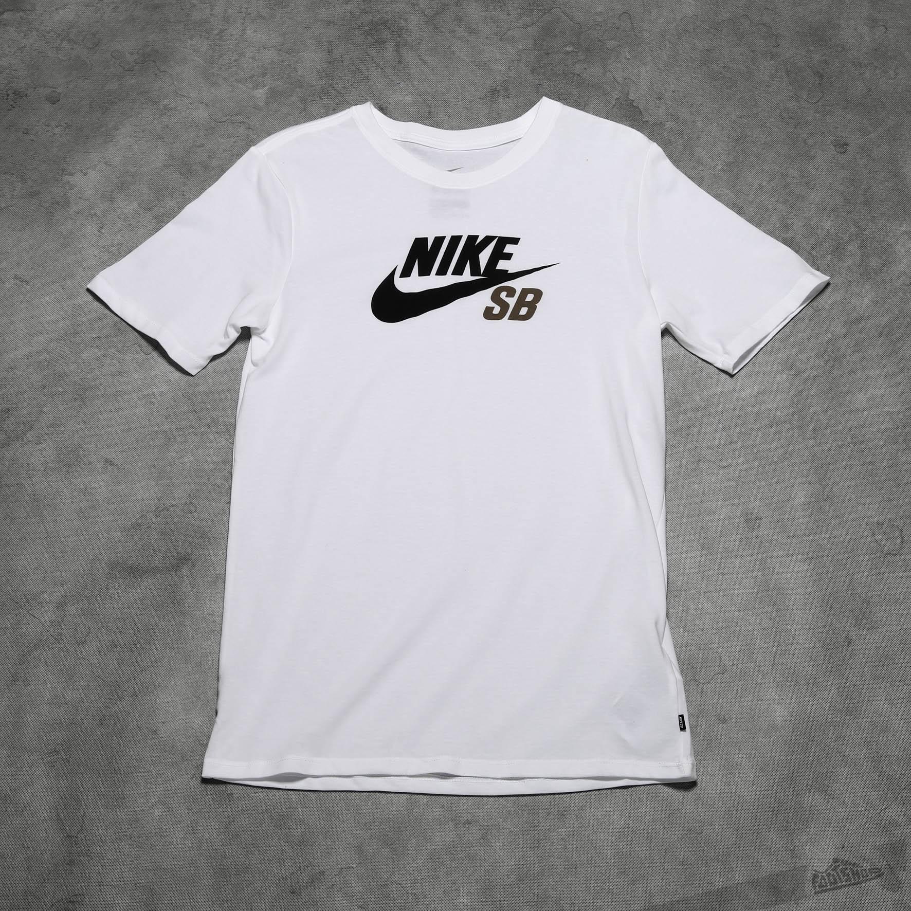 486c40ff66 Nike SB DF Icon Logo Tee White | Footshop