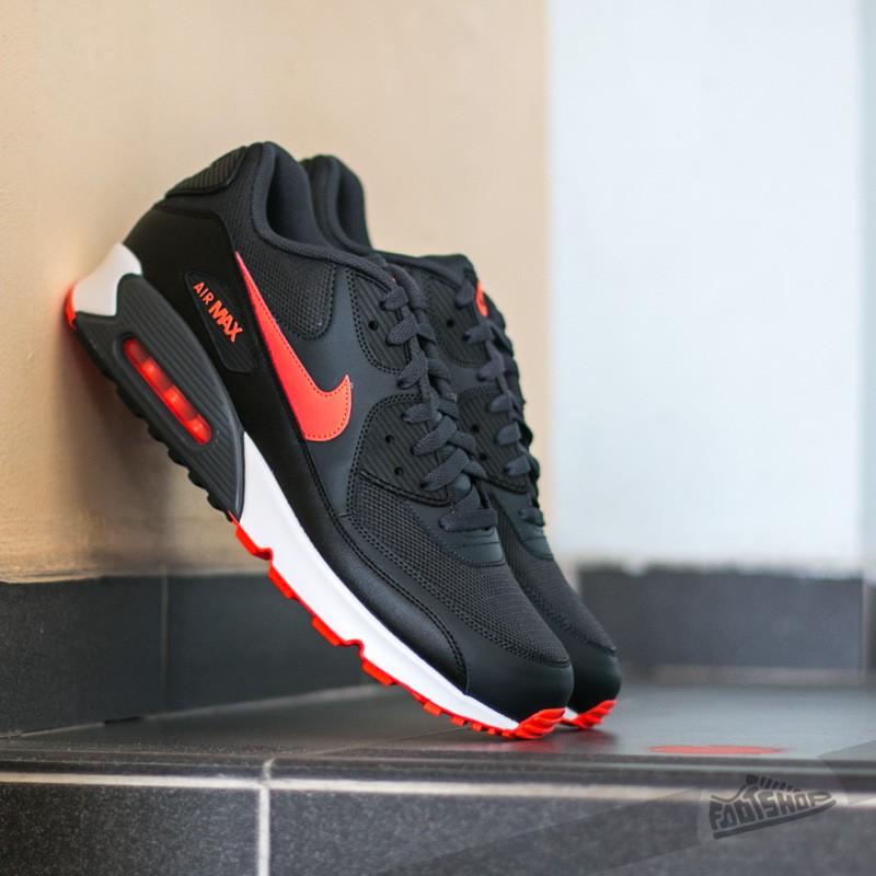 timeless design a216a ae0da Nike Air Max 90 Essential Anthracite  Total Crimson-Black-White