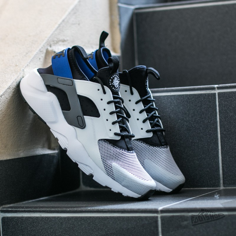 Nike Air Huarache Run Ultra White/ Racer Blue-Black-Dark Grey ...