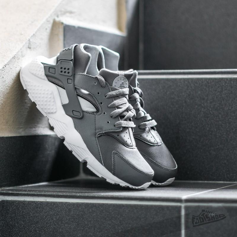 b16f4f437558 Nike Huarache Run (GS) Cool Grey  Cool Grey-Wolf Grey-White ...