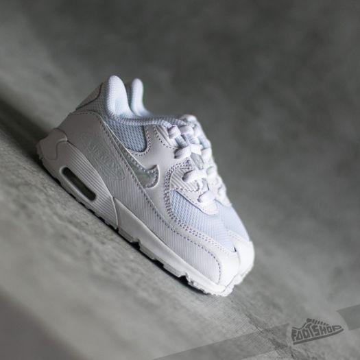 Nike Air Max 90 Mesh (TD)White White Cool Grey | Footshop