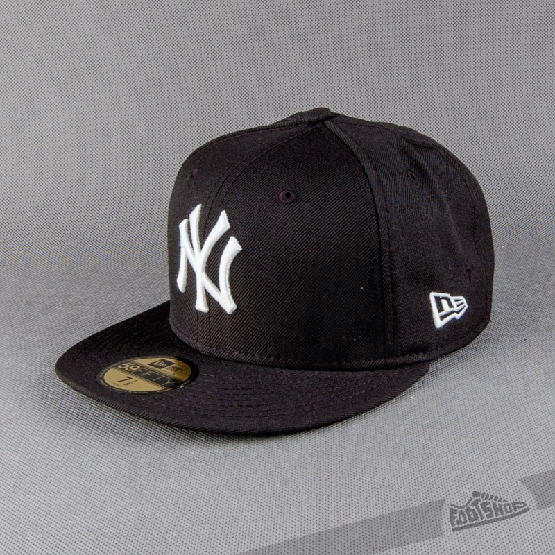 b1b40f2ae3c New Era 59FIFTY Mlb Basic NY Yankees Bla Whi