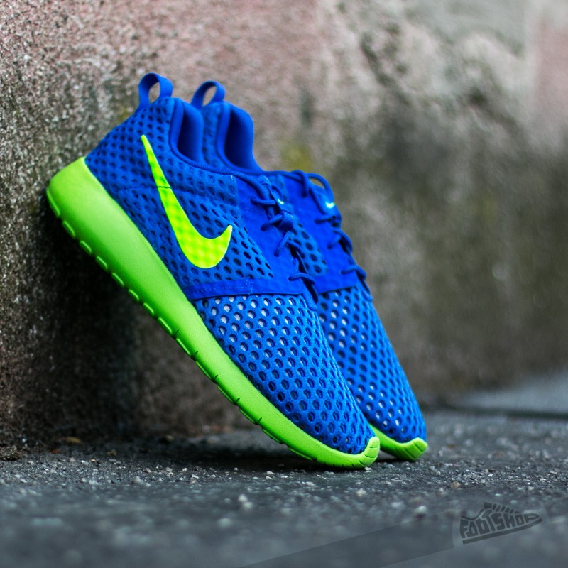 super popular 69c45 67e6c Nike Roshe One Flight Weight (GS) Racer Blue/ Electric ...
