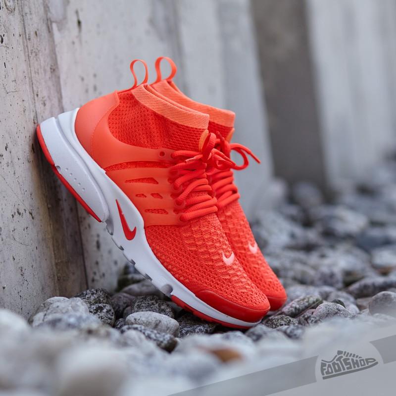 b74005e97a10 Nike Wmns Presto Flyknit Ultra Bright Mango  Bright- Crimson