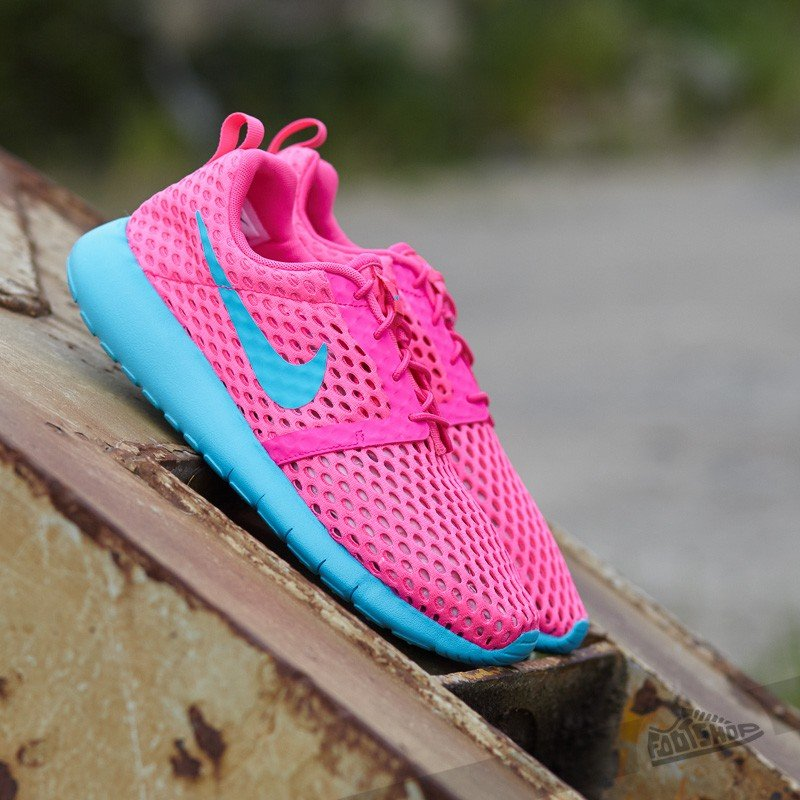wholesale dealer 18b69 71c3a Nike Roshe One Flight Weight (GS). Pink Blast  Gamma Blue