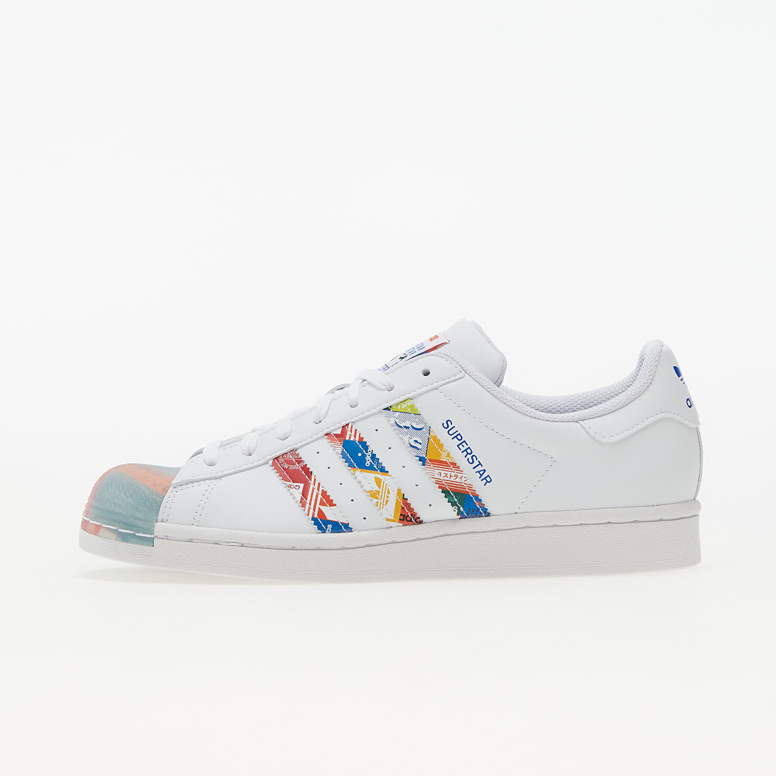 adidas Superstar Ftw White/ Blue/ Orange EUR 41 1/3