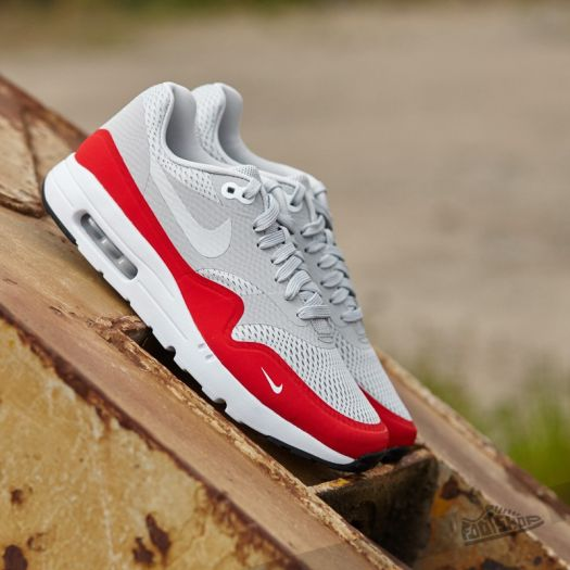 Nike Air Max 1 Ultra Essential Natural Grey University Red White Black | Footshop