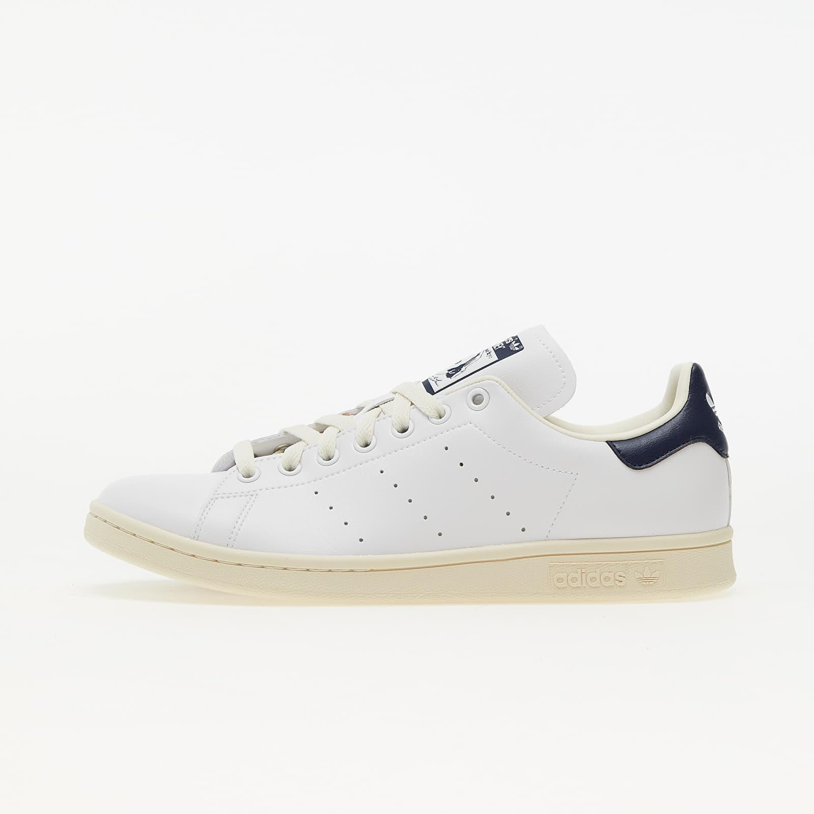 adidas Stan Smith Core White/ Ftw White/ Collegiate Navy EUR 45 1/3