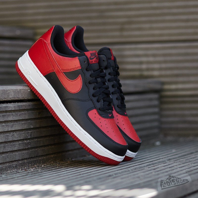 Nike Air Force 1 Black  Gym Red-White  a64290fa0