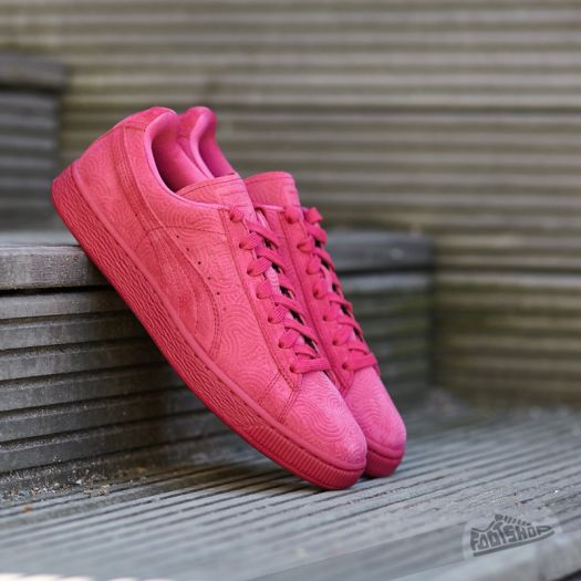 cheap for discount 922fd 28898 Puma Suede Classic + Colored Wn's Rose Red-Rose Red ...