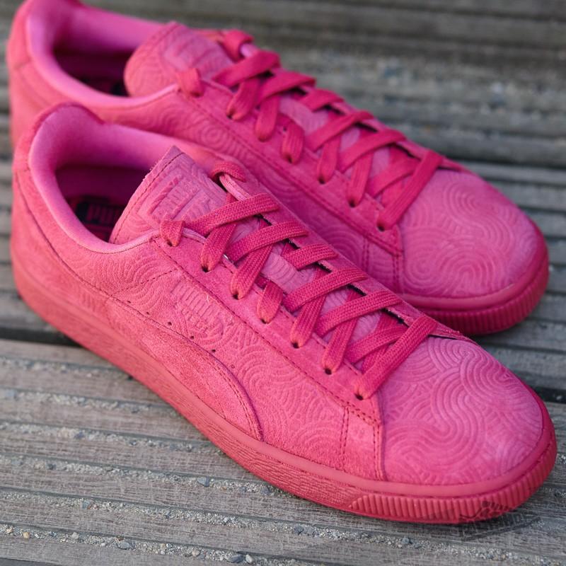 mieux aimé 9d2af e5e94 Puma Suede Classic + Colored Wn's Rose Red-Rose Red | Footshop