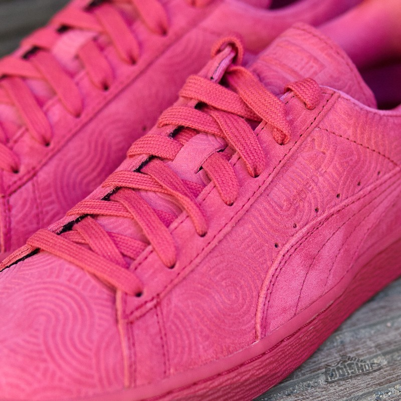 best loved cf629 2ff16 Puma Suede Classic + Colored Wn's Rose Red-Rose Red | Footshop