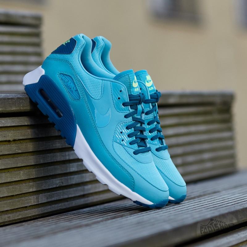 574fd561a2 Nike W Air Max 90 Ultra Essential Gamma Blue/ Gamma Blue-Green Abyss
