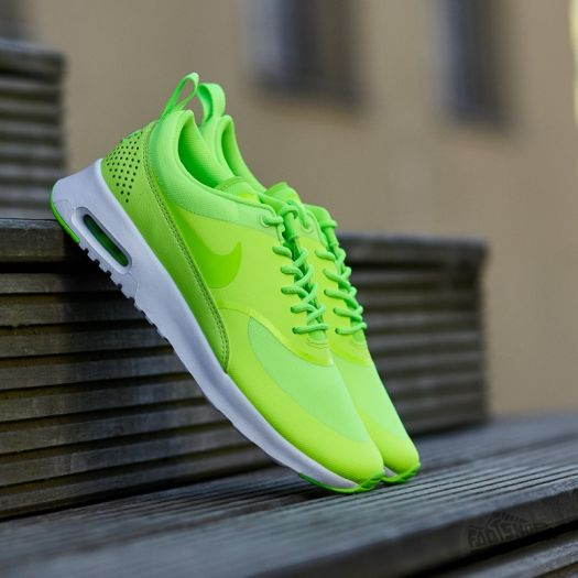 Nike Wmns Air Max Thea Ghost Green Electric Green White   Footshop