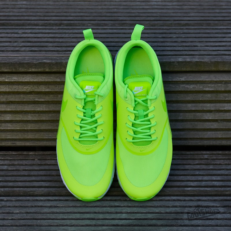 Nike Wmns Air Max Thea Ghost Green Electric Green White | Footshop