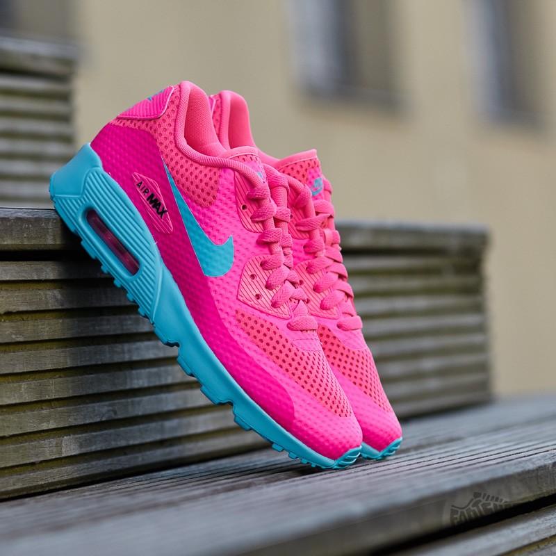 new style 9d9c3 276fd Nike Air Max 90 BR (GS). Pink Blast  Gamma Blue-Black