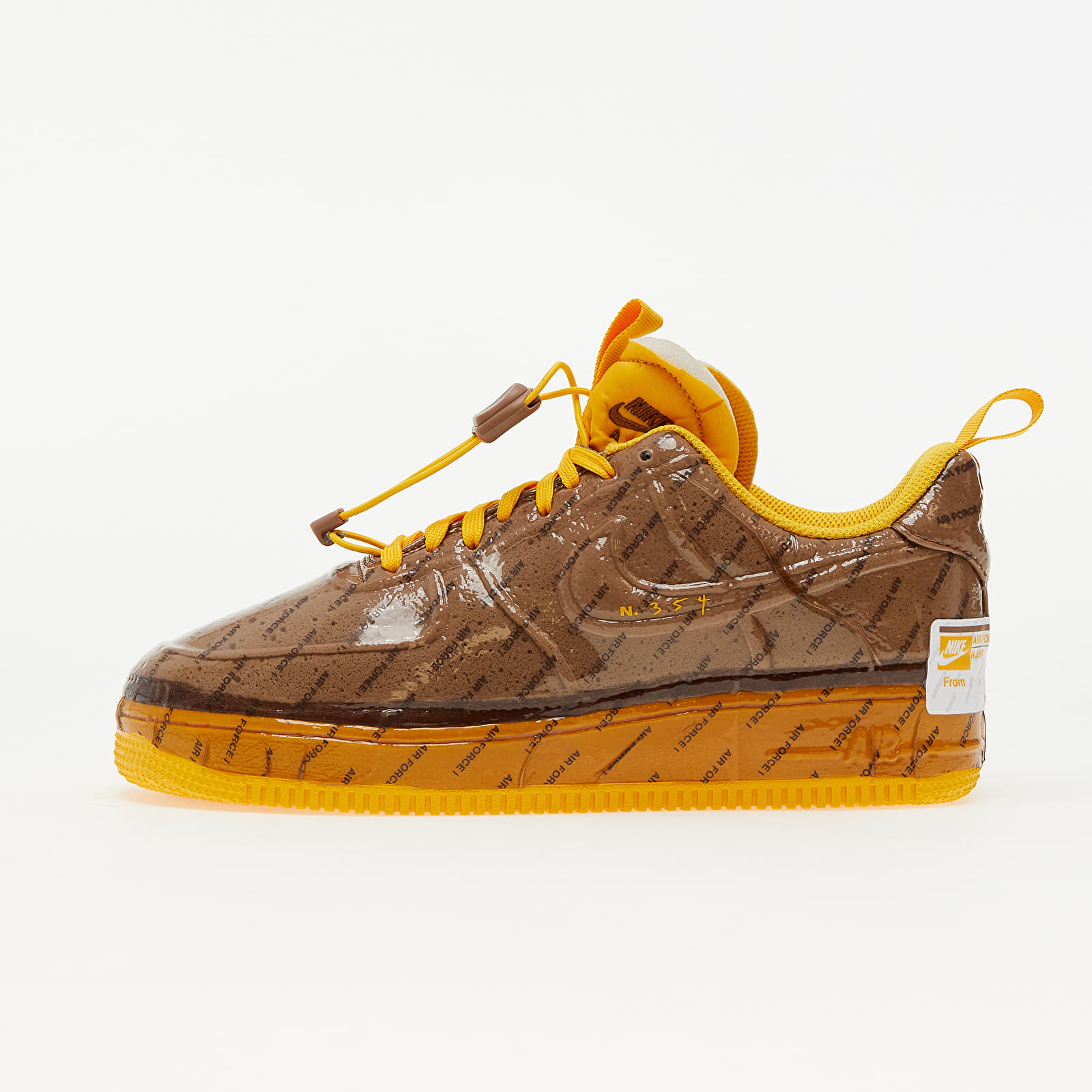 Nike Air Force 1 Experimental Archaeo Brown/ University Gold-White EUR 46