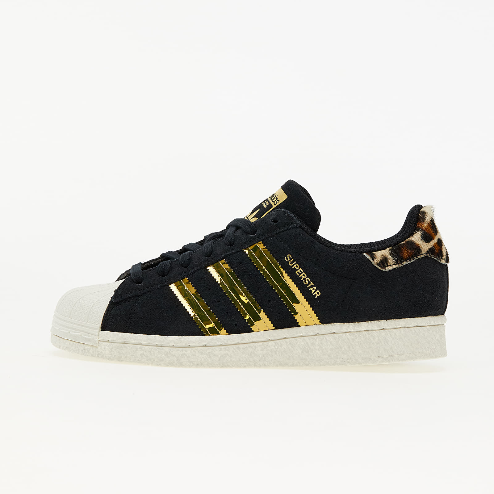 adidas Superstar W Core Black/ Off White/ Gold Metalic EUR 39 1/3