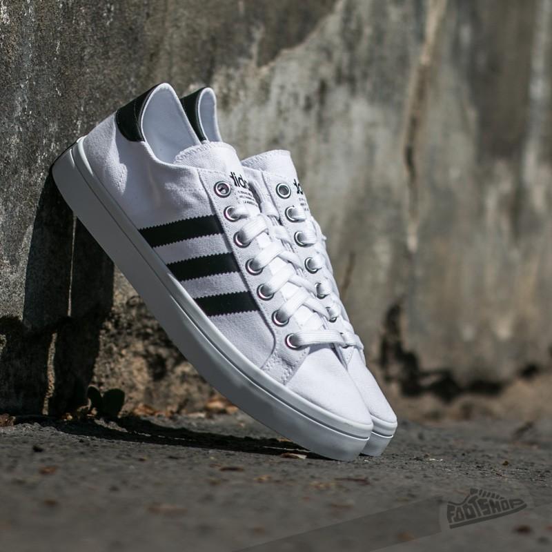 hot sale online c9833 f7d58 adidas CourtVantage Ftw White Core Black Metalic Silver