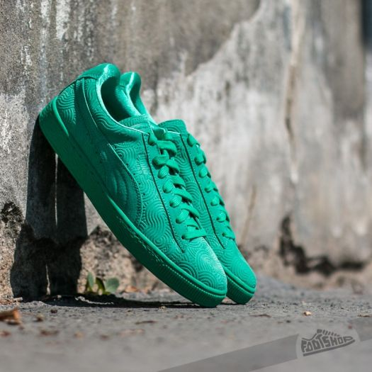 brand new 7c1d0 da8eb Puma Suede Classic + Colored Wn's Simply Green-Simply ...