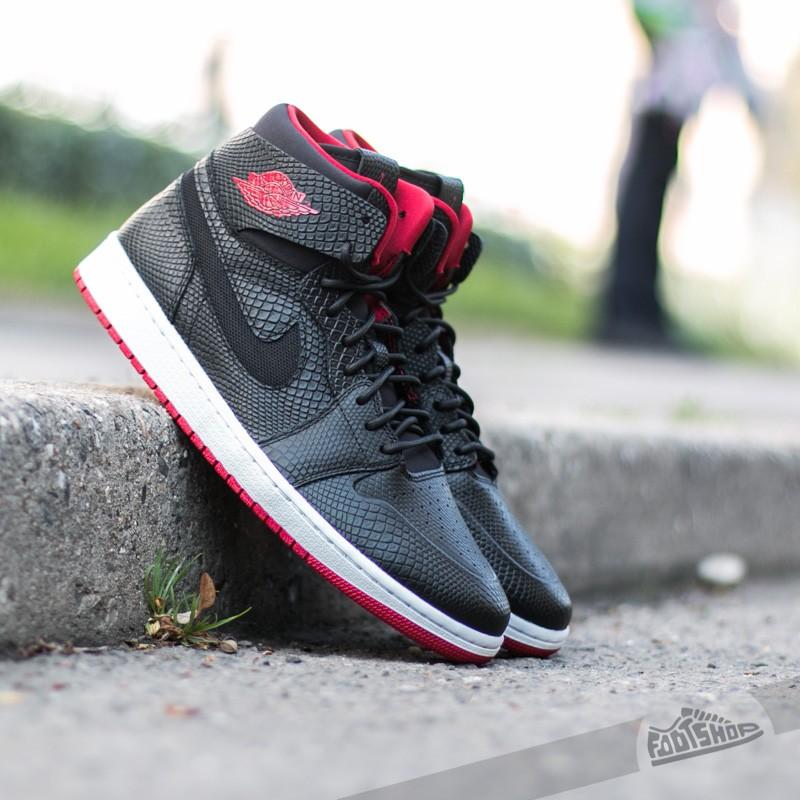 new product 1165c 1c137 Air Jordan 1 Retro High Nouveau Black/ Gym Red-White | Footshop