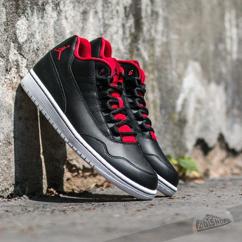best sneakers b623d 76176 Jordan Executive Low Black  Gym Red-Gym Red-White