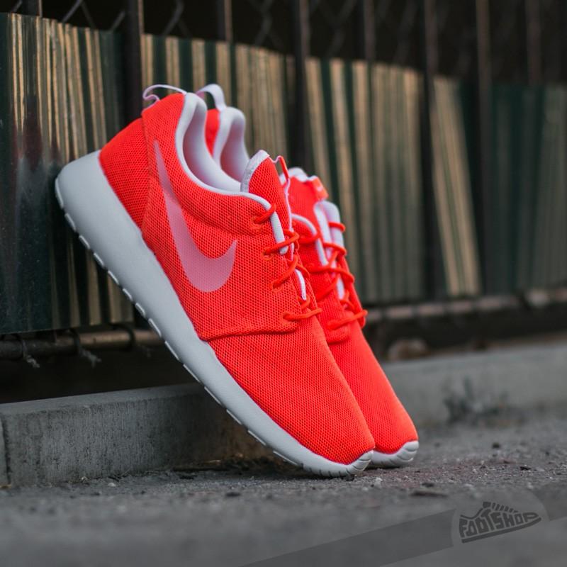 promo code b128b d032f Nike Roshe One BR Total Crimson  White