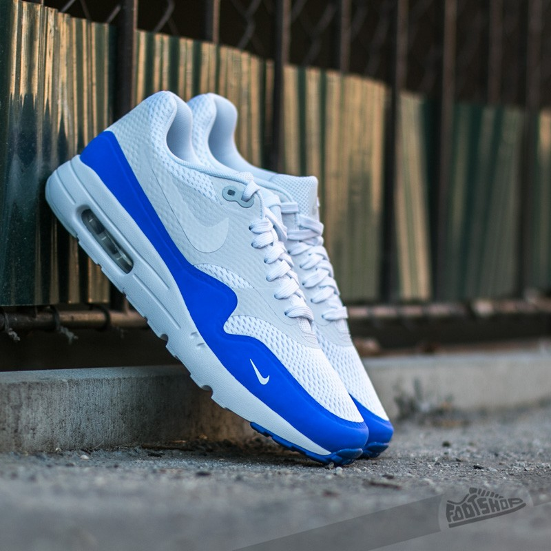 Nike Platinum Blue 1 Max Air Essential White Pure Ultra Racer 76byIYgfv