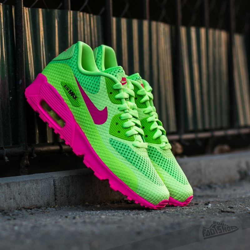625d38271048 Nike Air Max 90 BR (GS) Ghost Green  Pink Blast-Black